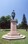 The General Humphreys Monument in the Fredericksburg National Cemetery