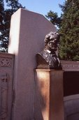 The Abraham Lincoln Address Memorial in Gettysburg National Cemetery