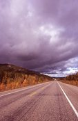 Storm Clouds over the Alaska Highway