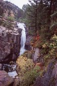 Shell Falls in the Bighorn Mountains