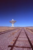 A Solitary Radio Telescope from the Very Large Array (VLA)
