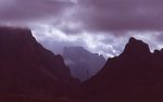 Storm Clouds over the Chisos Mountains Basin