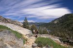 Hiking to Echo Lake on the Pacific Crest Trail
