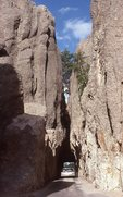 The Needles Highway in the Black Hills
