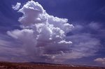 A Cumulus Congestus Cloud over the NRAO Very Large Array (VLA)