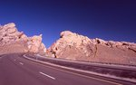 Westbound Interstate 70 Enters the San Rafael Swell