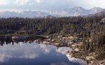 Eklund Lake in the Wind River Range