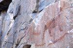 Manitou Petroglyph on Agawa Rock
