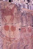 Petroglyphs on Agawa Rock