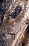 A Weathered Totem (Detail)