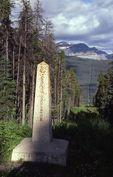 The Canada-U.S. Boundary, Waterton-Glacier International Peace Park, Alberta/Montana