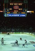 The Blackhawks and Canadiens at the Montreal Forum