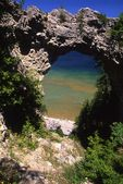 Arch Rock and Lake Huron