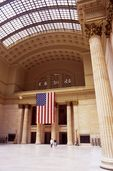 The Great Hall of Chicago's Union Station (1925)