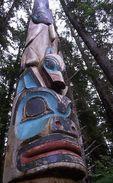 A Totem at Sitka National Historical Park