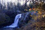 Moose Falls on Crawfish Creek