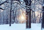 A Winter Sunset in Northern Illinois
