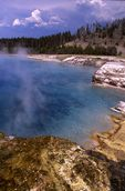 Excelsior Geyser Crater in Yellowstone's Midway Geyser Basin