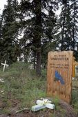 A Cemetery in Arctic Alaska
