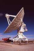 A Radio Telescope in the NRAO Very Large Array (VLA)