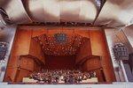 The Grant Park Symphony Orchestra and Chorus Rehearsing Elgar's