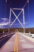 The Liard River Bridge on the Alaska Highway