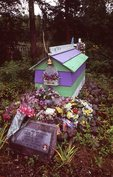 An Athabaskan Spirit House in Eklutna Cemetery