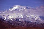 Mount Denali from Thorofare Pass