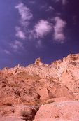 Clouds over the Badlands Wall