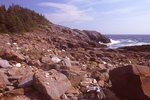 The Rocky Shore of Christmas Cove