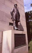 The Admiral David Farragut Statue at the U.S. Navy Monument
