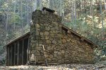 The Old Davenport Gap Shelter on the Appalachian Trail