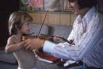 The First Violin Lesson