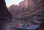 Watching Sunrise on the Colorado River below Boysag Point