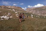 Backpackers in the Bighorn Mountains