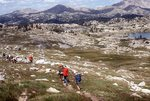 Backpacking on the Fremont Trail in the Bald Mountain Basin, Wind River Range