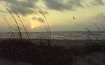 Sunrise, Malaquite Beach on the Gulf of Mexico