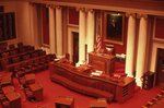 The House Chamber in the Minnesota State Capitol