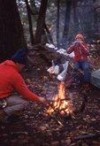 A Backcountry Camp near the Little Carp River