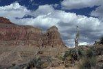 Scilla Butte from the Tonto Trail
