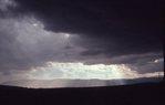 An Approaching Hailstorm near the Laramie Mountains
