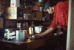 Lighting a Camp Stove in a Remote Alaska Cabin
