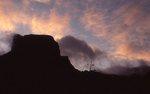 Casa Grande Peak at Sunrise