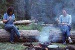 Wilderness Trail Crew Members Enjoying Supper