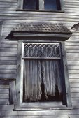 "Window of a ""Haunted"" House in the Spoon River Country"