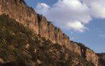 The Chisos Escarpment in Blue Creek Canyon