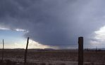 An Approaching Cold Front in the Chihuahuan Desert