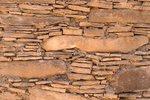 Detail, Late 11th Century Masonry, The Chetro Ketl Ruins