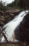 Waterfall on Lewis Creek, La Plata Canyon