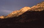 Cliffs at Sunset in Southwestern Utah